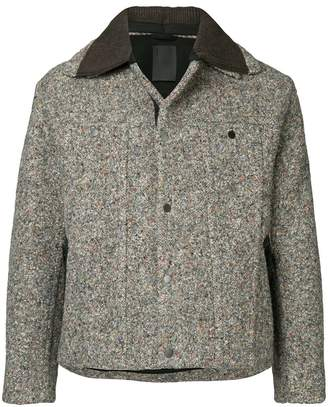 Craig Green speckled collared jacket