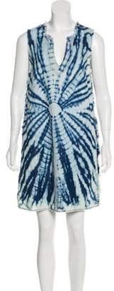 Raquel Allegra Mini Sleeveless Dress