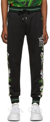 Dolce & Gabbana Black King Lounge Pants
