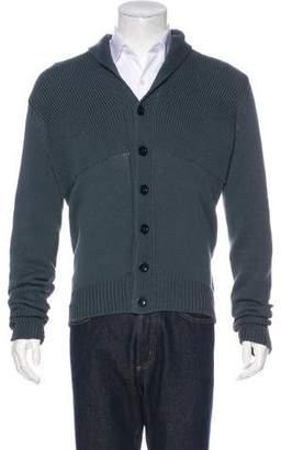 Maison Margiela Shawl Knit Button-Up Cardigan
