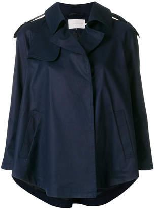 L'Autre Chose stud detail trench jacket