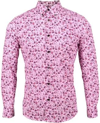 Lords of Harlech - Morris Shirt In Spikey Pink