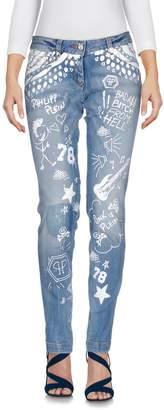 Philipp Plein Denim pants - Item 42620295QR