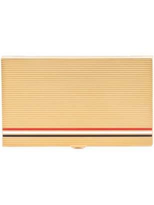 Thom Browne striped business card case