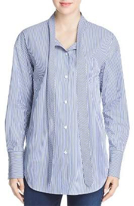 2bb080e95340a1 Free Shipping  150+ at Bloomingdale s · Theory Weekender Tie-Neck Shirt