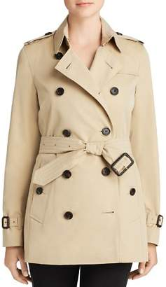 Burberry Heritage Kensington Short Trench Coat