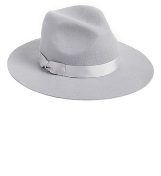 Lack of Color 'The Silver Haze' Felted Wool Fedora $59 thestylecure.com