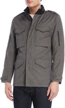 Coat Of Arms Grey Four-Pocket Jacket