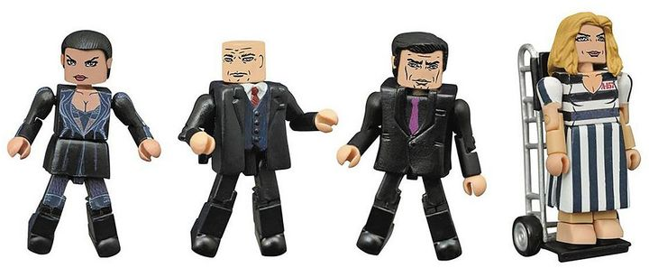 Diamond select toys Gotham TV Series Minimates Series 3 Box Set by Diamond Select Toys
