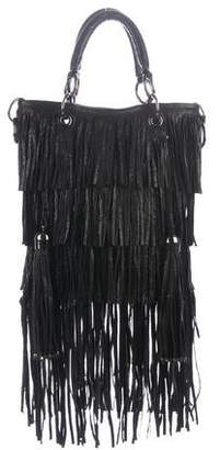 Thomas Wylde Leather Fringe Satchel