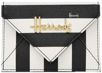 Harrods Boutique Multi Stripe Card Holder