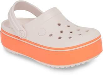 Crocs TM) Crocband Platform Clog