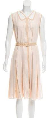 Marc Jacobs Striped Midi Dress