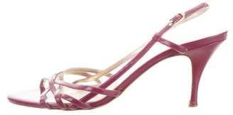 Dolce & Gabbana Multistrap Slingback Sandals