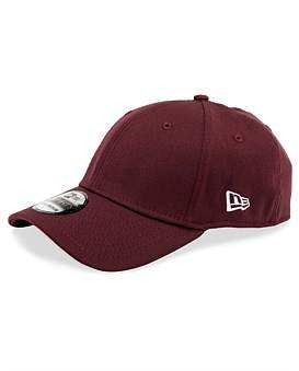 New Era 39Thirty Plain Snapback Cap - Maroon