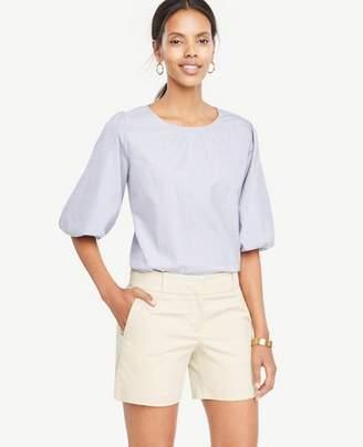 Ann Taylor Petite Cotton Metro Shorts