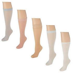 Passione Bellisimo Set of 5 Luxury KneeHigh Socks