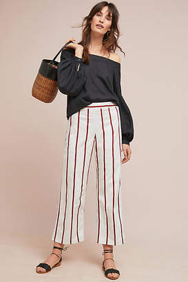 MiH Jeans Cropped Stripe Pants