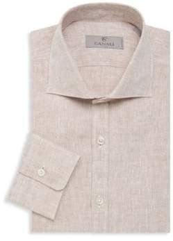 Canali Linen Sport Shirt