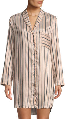 Hanro Malie Striped Sleepshirt