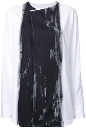 Yohji Yamamoto (ヨウジ ヤマモト) - Yohji Yamamoto deco blouse