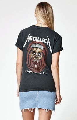 John Galt Metallica Short Sleeve T-Shirt $40 thestylecure.com