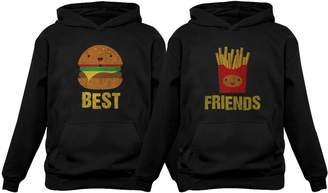 1bbc241b9 at Amazon Canada · Junk Food Clothing Tstars Best Friends Set BFF Hoodies  Set Burger   Fries Junk-Food