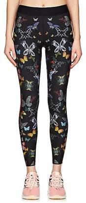 ULTRACOR Women's Butterfly-Print Sprinter Leggings - Black