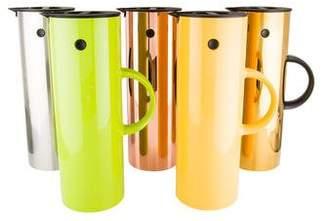 Stelton Set of 5 Multicolor Vacuum Jugs