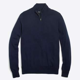 J.Crew Tall half-zip sweater in perfect merino wool blend