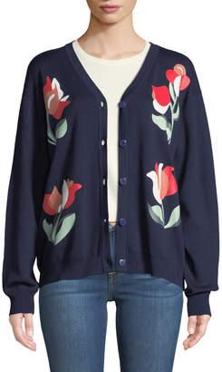 Few Moda Vintage Floral Cardigan
