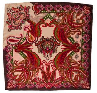 Christian Lacroix Silk Printed Scarf