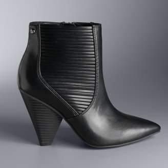 Vera Wang Simply Vera Gadwall Women's High Heel Ankle Boots
