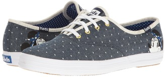 Keds - Champion Minnie Women's Lace up casual Shoes $55 thestylecure.com