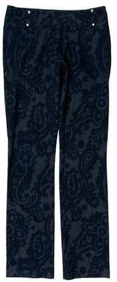 Etro Paisley Print Mid-Rise Jeans