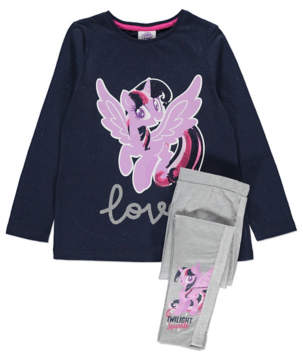 George My Little Pony Top and Leggings Set