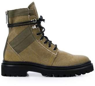 Balmain lace-up boots