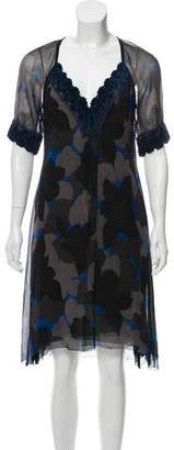 Yigal Azrouel Silk Midi Dress