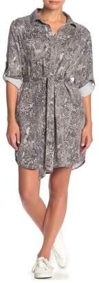 Velvet Heart Anita Snake Print Shirt Dress