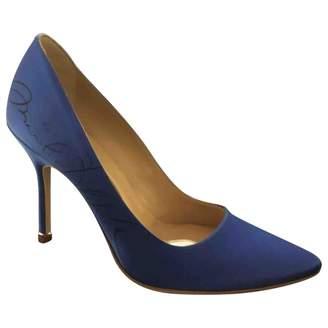 Vetements Blue Plastic Heels