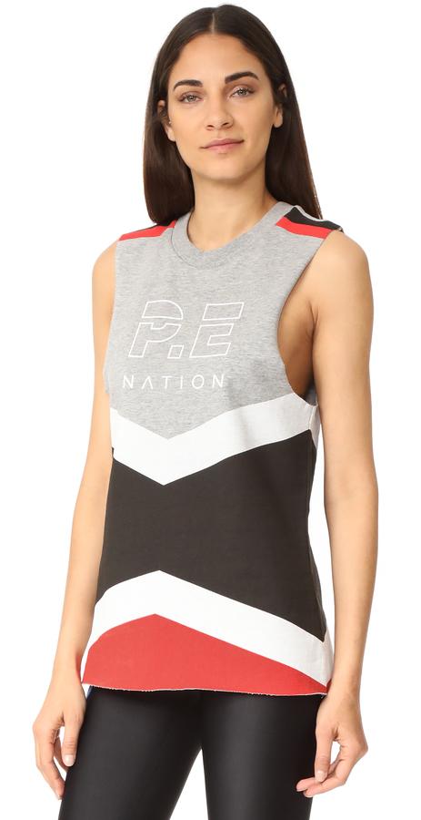 P.E NATION Racer Back Tank