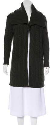Ralph Lauren Black Label Cable Knit Cashmere Cardigan