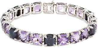 David Yurman Heritage  Chatelaine Silver 0.55 Ct. Tw. Diamond & Gemstone Bracelet