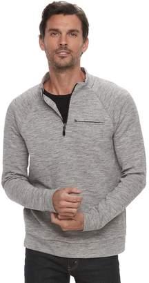 Marc Anthony Men's Slim-Fit Marled Quarter-Zip Pullover