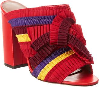 Tabitha Simmons Beau Grosgrain & Leather Sandal