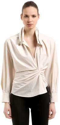 Jacquemus La Chemise Belem Cotton & Linen Shirt