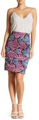 Nicole Miller Tuck Skirt