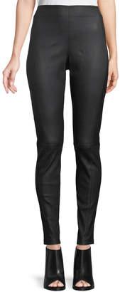Elie Tahari Trina Leather Leggings