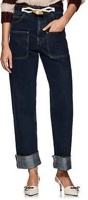 J.W.Anderson Women's Selvedge-Denim Wide-Leg Jeans