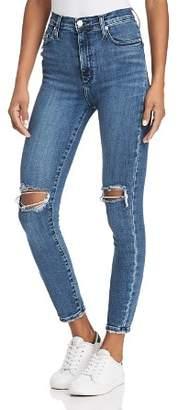 Nobody Siren Skinny Ankle Jeans in Heroic